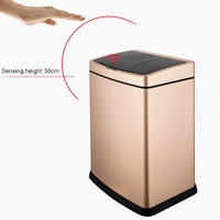 30L Home Sensor Automatic Kitchen Garbage Bin Trash Can No inner barrel
