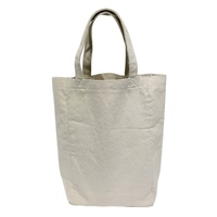 Reusable Luxury Eco Friendly Wholesale Durable Customized Printed 100% organic recycled promo wine canvas cotton bag fabric