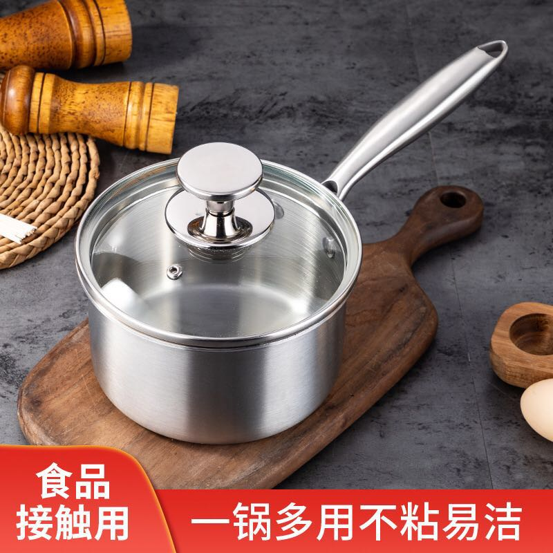 Hot sale 16cm milk pan with lid small lid