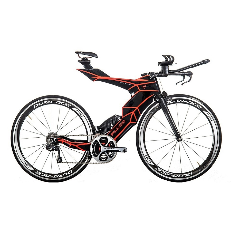 FALCO V-बाइक टाइम ट्रायल फ्रेम 2019 Di2 कार्बन टीटी फ्रेम कार्बन ट्रायथलॉन बाइक कार्बन फ़्रेमसेट टीआरपी के साथ ब्रेक 50/54/57cm