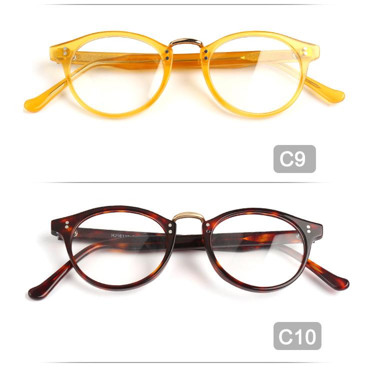 Wholesale Vintage Style Women Prescription Eyeglasses Acetate Glasses