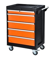 China Custom Garage Stainless Steel Tool Box Cart with 5 Drawer