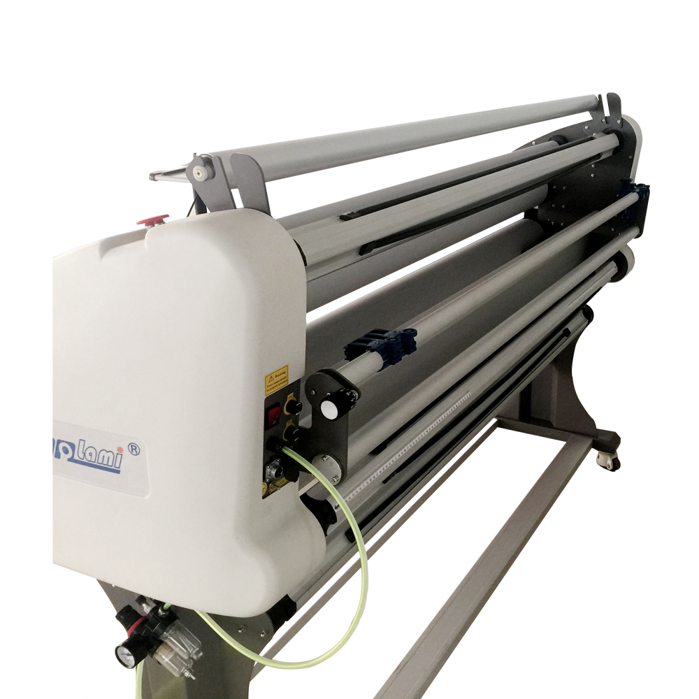 Large Format Roll Laminating Machine for vinyl and PVC