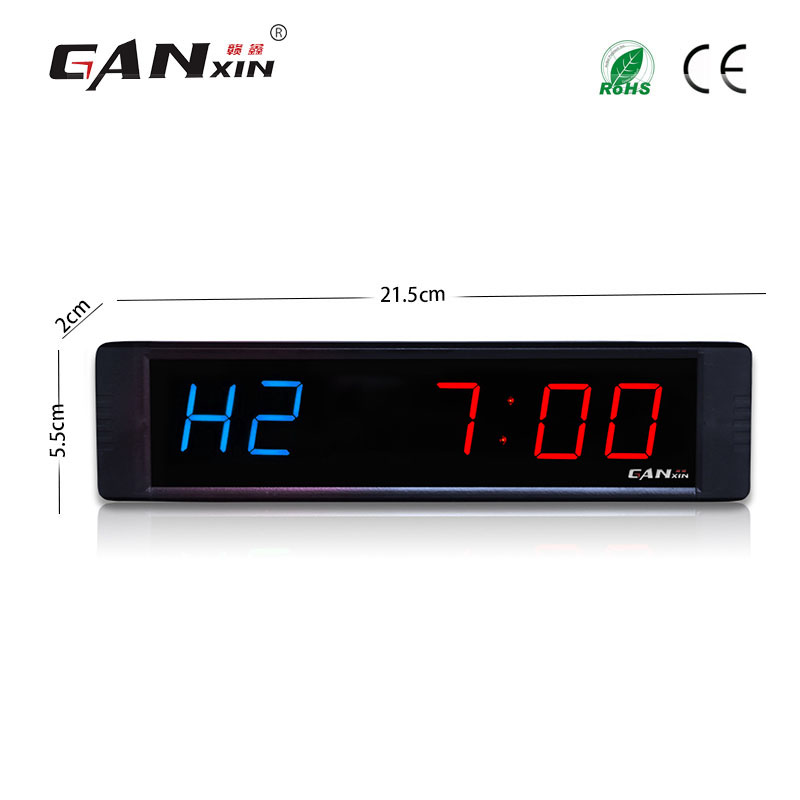 1 Inch Wholesale Remote Digital Led Clock Gym Crossfit Timer