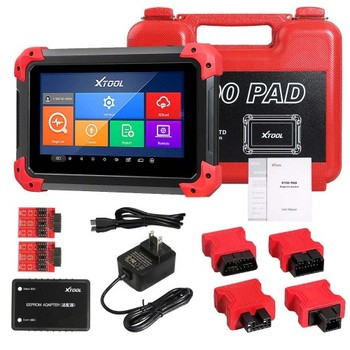 Auto Car Key Programmer With Oil Rest Tool Odometer Adjustment XTOOL X100 PAD