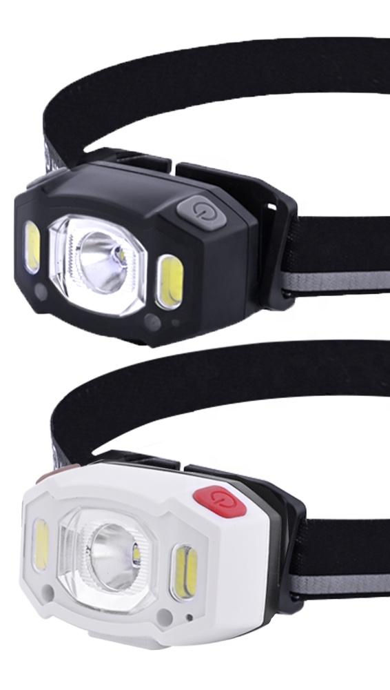 DAINING new amazon headlight waterproof sensor rechargeable outdoor led headlamp