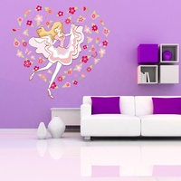 Bedroom Flower wall Stickers home decoration accessories