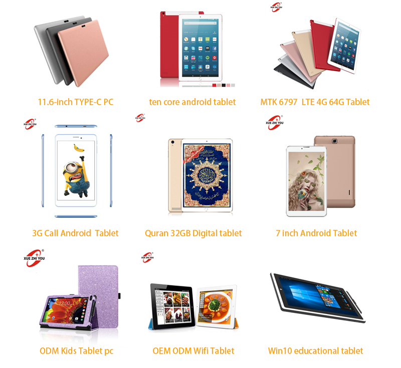 64GB 9.7 inch Capacitive Display Screen Dual Boot Android 9.0 Tablet PC MTK X20 4gb ram tablet PC with calling
