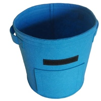 Felt plant fabric grow bags best selling felt grow pot bag