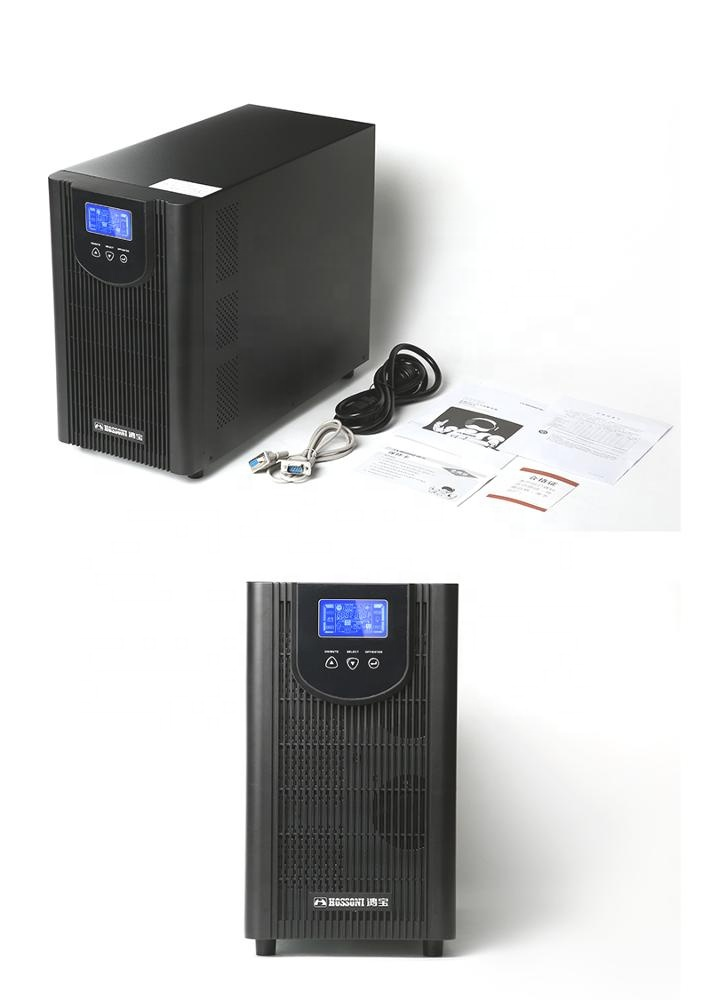 Uninterrupted Power Supply,Online High Frequency UPS,HBG-3KVA/3000VA,With Battery 5-15minutes