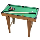 Factory Cheap Kids Wooden Snoker Table Billiards Game Set Toy Mini Family Indoor Game
