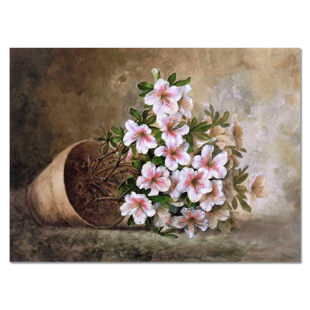 Contemporary art Realism still life landscape bloom handmade oil painting flowers
