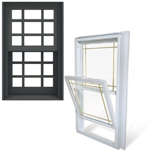 Topwindow Aluminium Rahmenlose Windows Bay Pull Griff Top Hing Schiebefenster