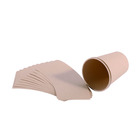 eco friendly yinbin bamboo fiber cup paper nature color