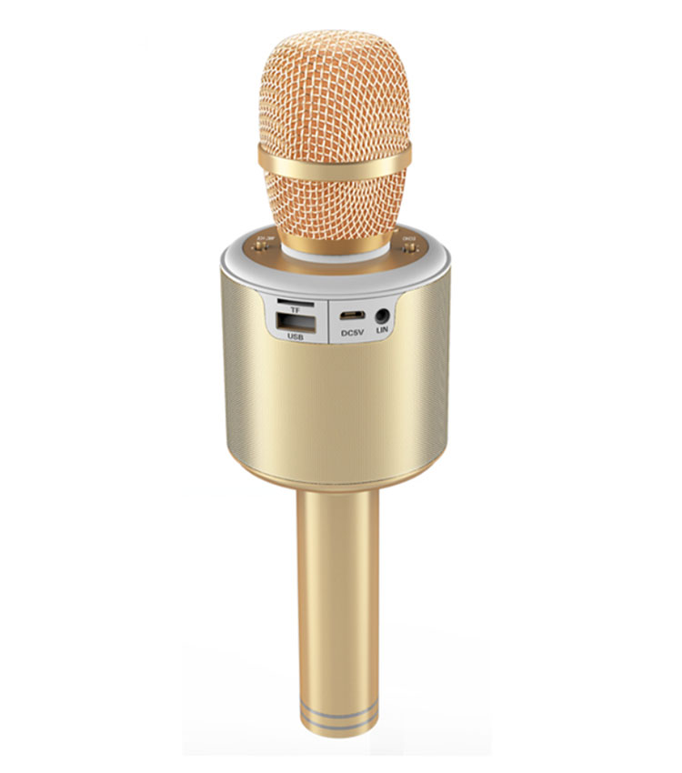 Gainstrong 1200mAh handheld wireless karaoke microphone support karaoke microphone and microphone karaoke ktv bluetooth
