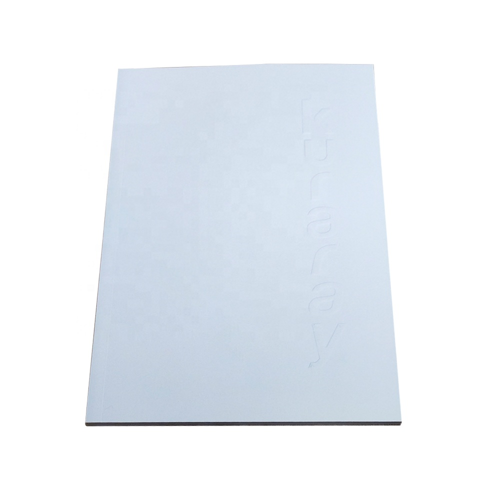 80 White Pages Notebook