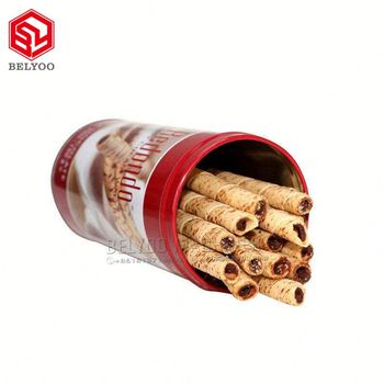 Factory supply wafer sticks machine coffee rolled wafers machine line