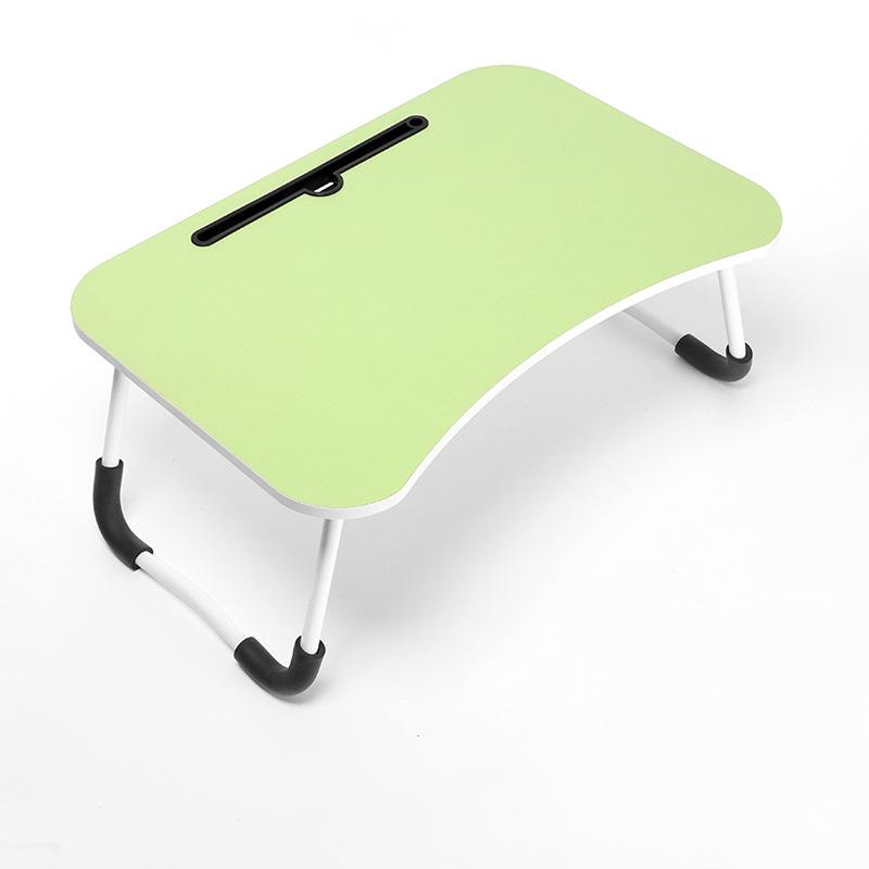휴대용 노트북 책상 접이식 접이식 무릎 트레이 침대 조정 테이블