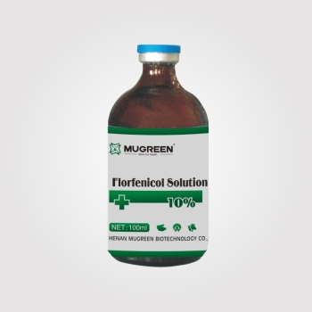 MUGREEN 10% Florfenicol solution veterinary medicine yellow white dysentery Escherichia coli serositis respiratory tract