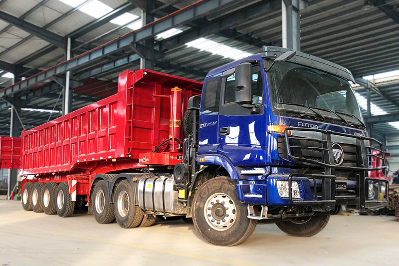 Good Price 70 Ton 45cbm Tipper Trailer from China Supplier