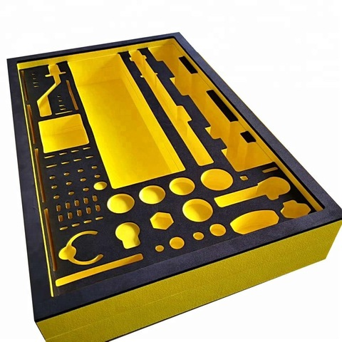 Фабричная поставка Высокоплотный EVA пенопласт листовой материал для кейс для инструментов поролоновая вставка