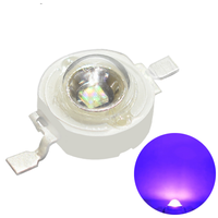 Czinelight High Quality high power Epileds smd 392nm 395nm 3w Purple Uv Led lamps