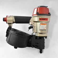 SUNWELL Good quality Max Design Pneumatic Air Pallet Coil Nailer CN55