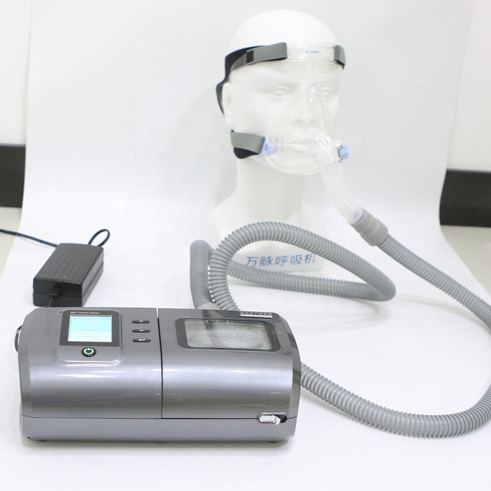 Chinese Own Brand Best Price Household <strong>Portable</strong> BiPAP Machine BiPAP <strong>Ventilator</strong> Pressure Range 4-30cm H2O Backup Rate Adjustable