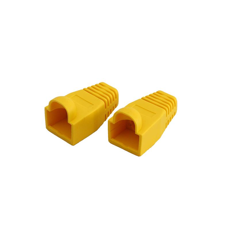 Suitable for UTP, FTP, RJ45 connector Colorful RJ45 Strain Relief