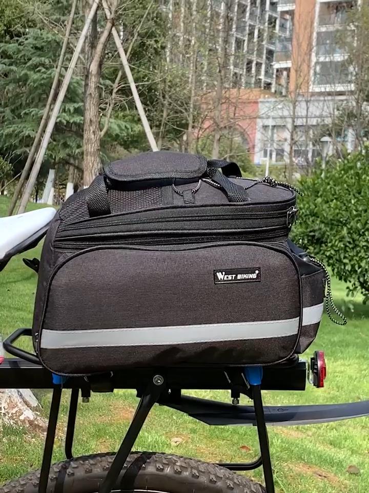 Toptan özel açık bisiklet seyahat bisiklet arka raf eyer Pannier kuyruk çantası bisiklet şasisi çantası