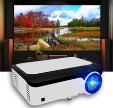 Professional audio video full HD 4k projektor native 1080p LCD LED projektor für spiel spielen