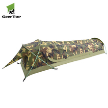 Geertop 1 personne emballage camouflage militaire <span class=keywords><strong>bivouac</strong></span> tente pour la chasse
