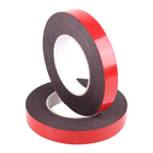Free Sample Double Sided Adhesive Red Release Film PE Tape for Advertisement Decoration