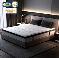 King Size 5 Zone Pocket Coil Spring Mattress With CertiPUR-US Certified Memory Foam For Sale Online Store or Hotel