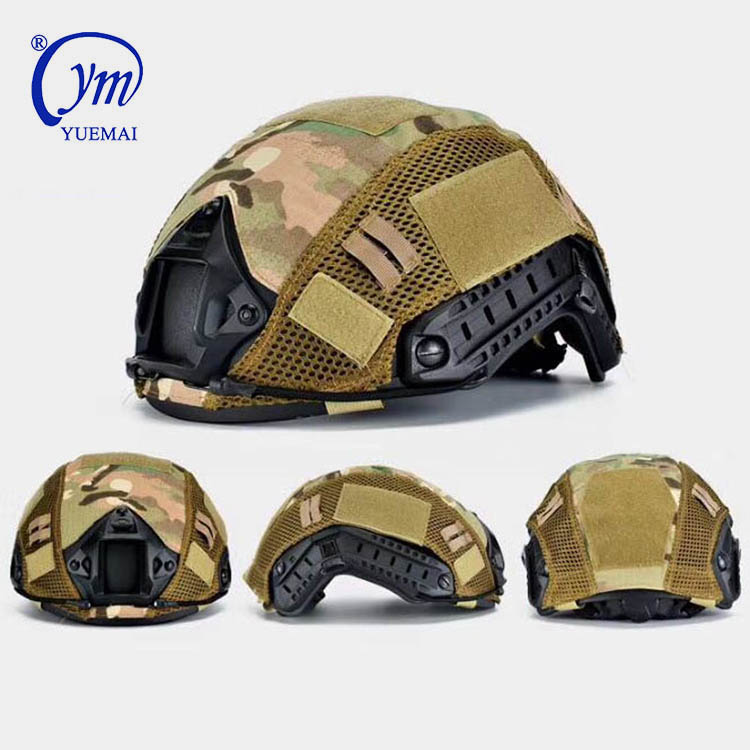 Hot Design Multifunctional Airsoft Tactical Full Face Protected Military Helmets With Facial Accessories