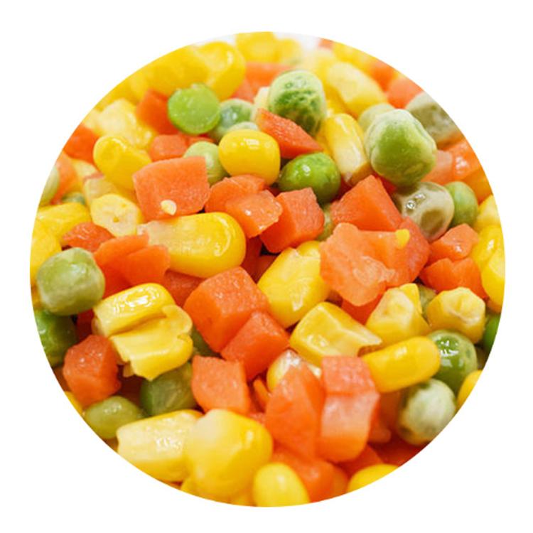 Shiweiku Marque Haute Qualité Meilleure Vente En Gros Mélange De Légumes Aliments Congelés