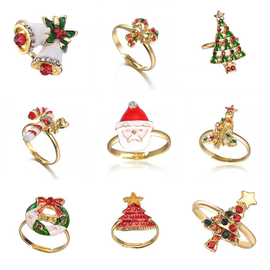 Cincin Pernikahan Wanita Perhiasan Jari Santa Claus Kepingan Salju Pohon Emas Untuk Pesta Pernikahan Modis Lucu Buy Natal Cincin Kepingan Salju Cincin Wedding Ring Product On Alibaba Com