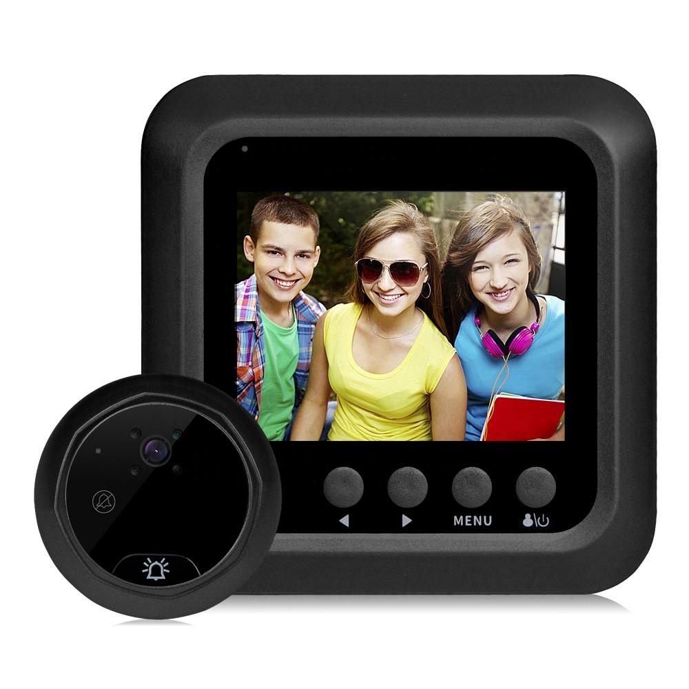 HD intelligente visionneuse de porte 3.0 Pouces écran LCD maison coffre-fort électronique sonnette caméra visionneuse
