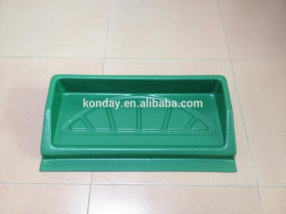 Golf Ball Collection Plastic Tray For Driving Range