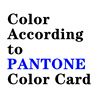 Color according to Pantone color card