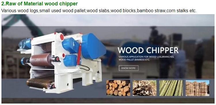 木材チッパーシュレッダーマシン