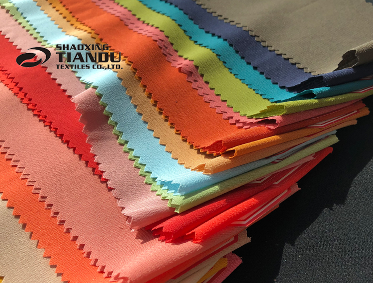 Solid colorful wholesale 100D spandex chiffon fabrics stretch chiffon for summer dress