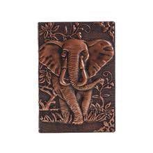 2019 2020 школьное расписание 3D тиснением Слон, записная книжка, дневник, дорожный дневник, планер, бизнес-школа, офисные принадлежности(Китай)