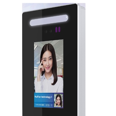 Access control for turnstiles use Android facial recognition device