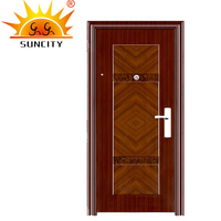 Environmental Swing Open Style Security Steel Door House Front