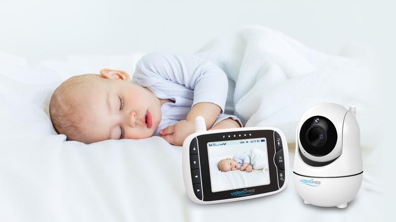 3.2 inch portable baby camera night vision baby monitor twoway talkback