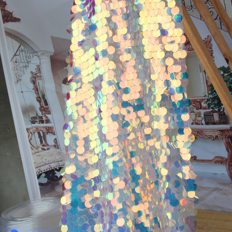 phantom sequins veil wedding background decoration