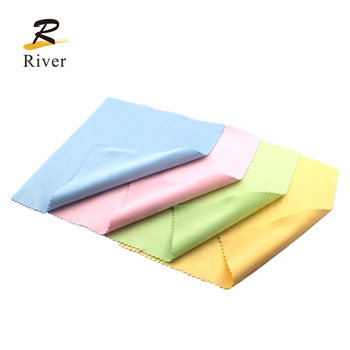 High quality 230g custom print microfiber glasses cleaning cloth