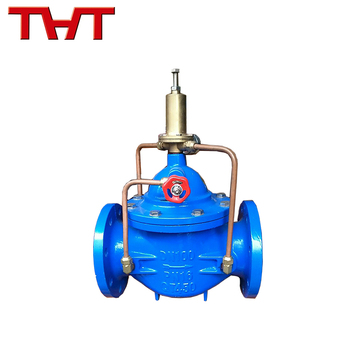 Low pressure relief water control valve