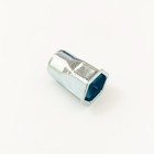 Semi-hexagonal reducer stainless steel nut M4-M10 small head inner and outer nuts